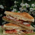 Club sandwich med caesardressing