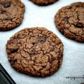 Chokladkakor - Double Chocolate Chip Cookies