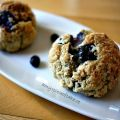Blåbärsscones - Blueberry Scones